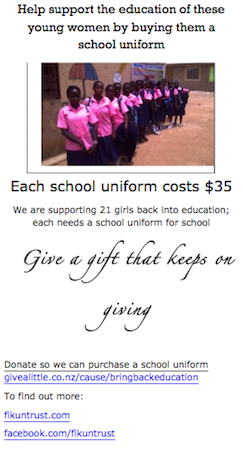 FikunTrust - School Uniform - 2015